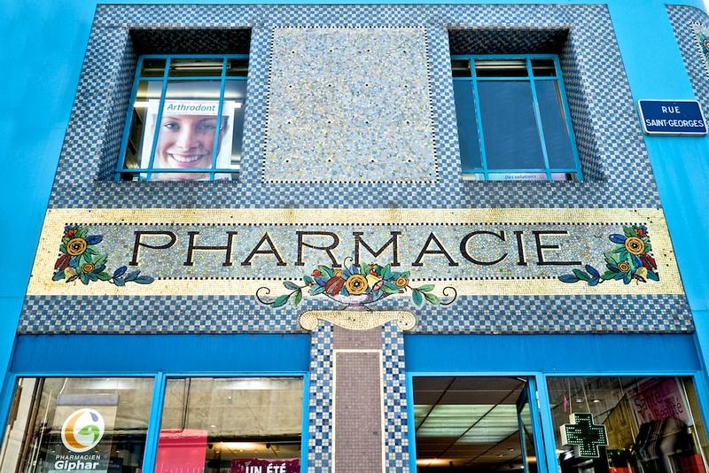 La pharmacie du Point-Central, Nancy