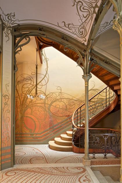 Alan ainsworth photography brussels art nouveau for Art nouveau interior design bedroom